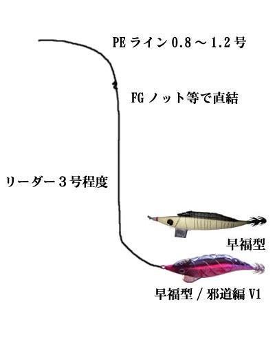 画像2: キーストン エサ巻きエギ/早福型 M号