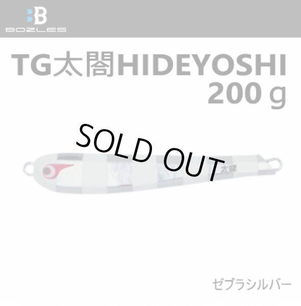 画像1: ボーズレス TG太閤ヒデヨシ200g ゼブラシルバー (1)